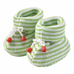 Wholesale Soft Baby First Walker Infant Toddler Crib Shoes Comfortable Anti Slip Baby Walking Shoes Color with Knots in Colors