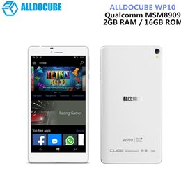 Discount tablet ram 2gb 16gb - ALLDOCUBE WP10 6.98 Inch 4G LTE Phone Call Tablet Windows 10 Mobile Quad Core 1.3GHz 2GB RAM 16GB Camera IPS Screen WiFi