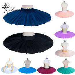 Wholesale black Hard Tulle half ballet tutu practicing rehearsal classical ballerina ballet tutu costume BT8923