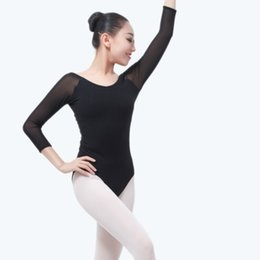 Ballet Fashion Ballet Dance Costume Jumpsuit Uniforms Adult Female Gymnastics Dance Wearing Sexy Ballet Coveralls Stage & Dance Wear