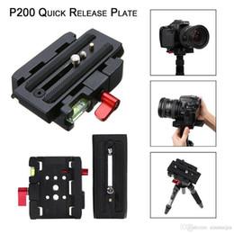 Schnellwechselplatte QR Clamp Adapter Basisstation für Digitalkamera Manfrotto 501 500AH