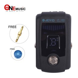 Bass guitar effects online shopping - JOYO JT Pedal Tuner for Guitar Bass Effect Pedal Bypass with Metal Casing MU0041