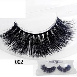 Top False Eyelashes Australia - 3D False Eyelashes 12 Styles Makeup 100% Real Natural Thick False Fake Eyelashes Eye Lashes Makeup Extension Beauty Tools Top Quality