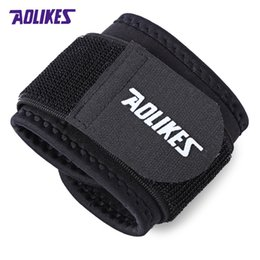 Wrist Band Cycling Australia - AOLIKES A - 7936 Sport Wrist Guard Support Band Bracer Protector Suitable for football, basketball, cycling, tennis, running, etc
