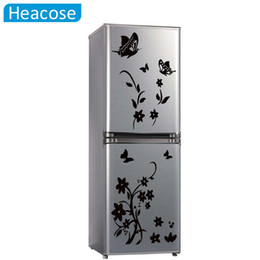 Chinese  DIY butterflies wall sticker flower for kids rooms 6 colors refrigerator art wall decals living room wallpaper home decor manufacturers