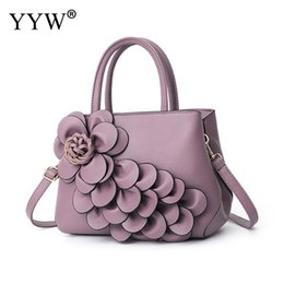 flowered handbags fashion Canada - Multifunctional Flower Handbag For Women Designer Totes Top Handle Hand Bags Large Capacity Fashion Ladies Portable Shoulder Bag