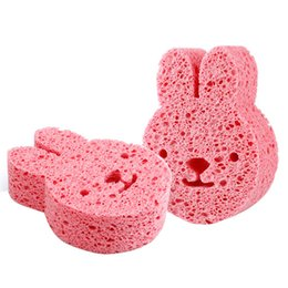 $enCountryForm.capitalKeyWord UK - Hot Sale Baby Bath Sponge Loofah Infant Shower Cotton Scrub Body Bath Brushes Spa Sponge Cleaning Scrub soft for baby