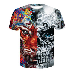 $enCountryForm.capitalKeyWord UK - New anime short sleeve 3d t shirt harajuku Compression print tees tops skull Crossfit streetwear funny Men Women summer t-shirt