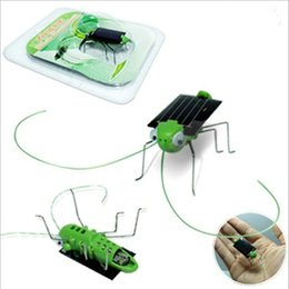 Vente en gros Nouvelle arrivée Modèle de sauterelle modèle Jouet solaire Enfants dehors Jouets Enfants Jouets éducatifs Cadeaux Augmented Reality Toys!
