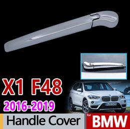 2c45999b5e7b for BMW F48 X1 Chrome Rear Wiper Arm Cover Car Accessories Stickers 2016  2017 2018 2019 sDrive xDrive 18d 18i 20i 20d 25d 28i
