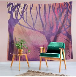 Discount new bedding styles - 2018 New wall decor tapestry multifunction printing tablecloth bed shee beach towel nice 6 style home decoration party s