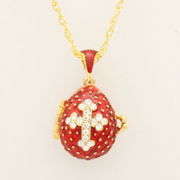 Faberge crystal eggs nz buy new faberge crystal eggs online from suitable for european luxury faberge egg pendant red crystal cross pendant necklace enamel europe easter eggs christmas gifts find similar nz3080 negle Images