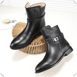8e3a0865af67 Ladies Casual Shoes Booties Causal Knight Ladies Boots Single Vintage Short  Booties Slip on Sexy Buckle Shoes Woman Fast Delivery