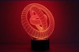 $enCountryForm.capitalKeyWord Australia - BALIYIN Hot-Selling 3D 7 Colors Solid Night Light, Touch Switch Remote Control Table Desk Lamp for Office Bars Clubs Rooms Home Theme