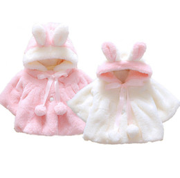 $enCountryForm.capitalKeyWord NZ - Baby Toddler Girl Clothing Warm Fleece Winter Jackets Coat Snowsuits Jacket Cloak Clothes Baby Girls