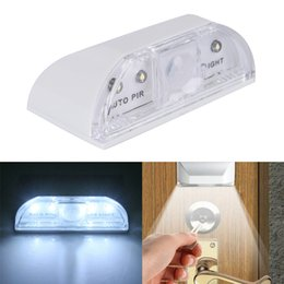 Motion detector ir online shopping - PIR Wireless Auto Infrared IR Sensor Motion Detector Keyhole LED Light Lamp Night Lights Motion Light Ambient Sensor Light