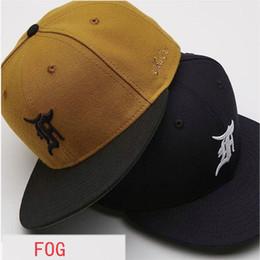 3bdef550536 2018 New Fear Of God Caps Justin Bieber Hip Hop Black Yellow FOG Baseball  Cap Casual Streetwear Embroider Denim Fear Of God Hats