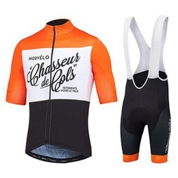 Lycra Sports NZ - 2018 Morvelo Cycling Jerseys bib shorts set Bicycle Breathable sport wear cycling clothes Bicycle Clothing Lycra summer MTB Bike K92137