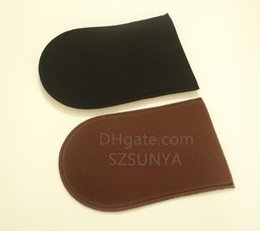 Wholesale Tan Applicator Mitt Self tanners bronzers brown velvet black fabric