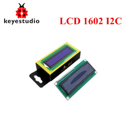 $enCountryForm.capitalKeyWord NZ - Free shipping !Keye16X2 1602 I2C TWI LCD Display Module Blue Backlight for Arduino UNO R3 MEGA 2560