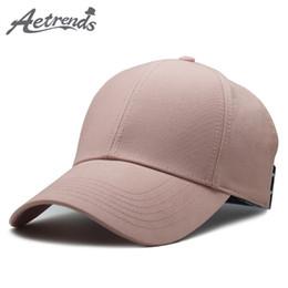 617d468d8de  AETRENDS  New summer sports women mens caps and hats gorras planas elastic  ponytail baseball cap band hat stranger thing Z-6522