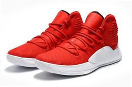 a5fc7de4e001 Kids Hyperdunk x tb red white free shipping hyperdunk 2018 men women  Basketball shoe Drop Shipping size 36-46