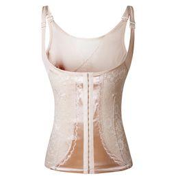 07df5aa0450 Plus Size Body Shaper For Women Slimming Sheath Belly Tummy Control Slim  Shaper Belt Shapewear Waist Trainer Corset Cincher