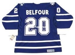 custom Mens Jerseys ED BELFOUR Toronto Maple Leafs 2002 CCM Vintage Cheap  Retro Hockey Jersey a1a7ac809