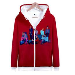 7fd8017f Hip Hop New Hot Kpop Bts 3D Korean Sweatshirt Hoodies Women Men Casual  Print Zipper Hoodie Jacket Coat Cute Hoodie Plus Size 4XL