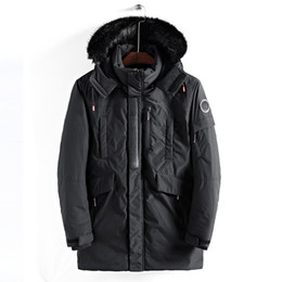 260a24c017a1 Wholesale Hooded Thicker Cotton Mens Designer Winter Coats Side Seam Pocket  Mens Winter Jacket Cotton Padded Luxury Brand Winter Jacket Men