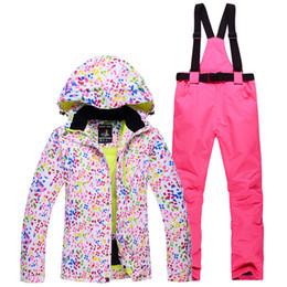 $enCountryForm.capitalKeyWord Canada - New Waterproof Breathable Ski Suit Sportswear Women's Winter Ski Suit Top Hooded Jacket Jacket & Pants Women's