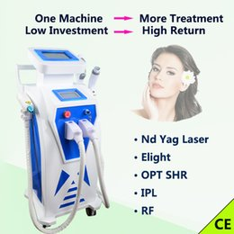$enCountryForm.capitalKeyWord Australia - OPT SHR IPL hair removal machine Nd yag laser age spots removal tattoo removal 3000W acne treatment RF laser IPL Skin Rejuvenation machine