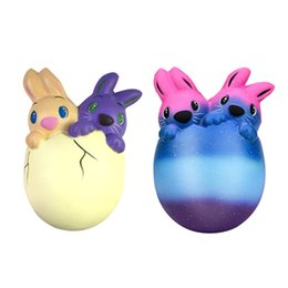 Big easter eggs nz buy new big easter eggs online from best soft jumbo easter bunny egg squishy rabbit toys slow rising rabbit phone chain toys gifts decompression toy nz646 negle Images
