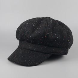 66907e54 Wool Newsboy Caps Men NZ - 2018 fashion lady gavroche hat high quality  casual vintage cap