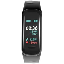 Smart watch bluetooth bangle online shopping - Bluetooth Smart Bangle Watch Pedometer Multi function M Waterproof Big Screen Heart Rate Smart Bracelets Outdoor Sport Digital LED Watch