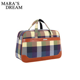 $enCountryForm.capitalKeyWord UK - Mara's Dream New Arrival Large Capacity Canvas Duffle Bag Hand Luggage Women Travel Bags Female Weekend Travel Bags For Women