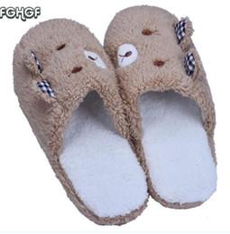 $enCountryForm.capitalKeyWord UK - Korean House Home Slippers Women Men Plush Warm Shoes Indoor funny Cute Slippers chaussons Pantufa femme zapatillas casa mujer