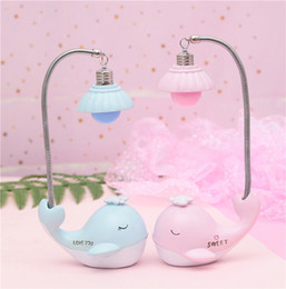 Gift Craft Christmas Ornament Australia - Student gift ornaments zakka cute dolphins night light hanging girl heart gift solid source of goods crafts