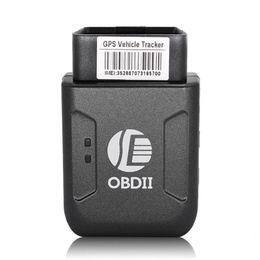 $enCountryForm.capitalKeyWord UK - Mini GPS TK206 OBD 2 Real Time GSM Quad Band Anti-theft Vibration Alarm GSM GPRS Mini GPRS Car Tracker Tracking OBD II