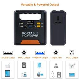 $enCountryForm.capitalKeyWord Australia - Car Power Bank AC Power Supply Rechargeable Battery Pack for Laptops Tablets Phones 36000Mah Bulit In LED light