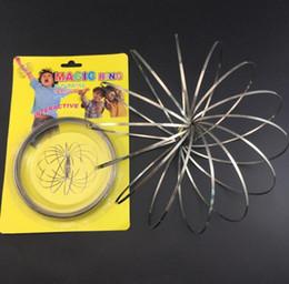 rang sport 2019 - The Original Toroflux Torofluxus Flowtoys Flow Ring Toys Kinetic Spring Toy Holographic Moving Creates Ring outdoor toy