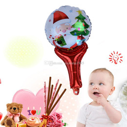 $enCountryForm.capitalKeyWord Australia - Christmas Balloons For Home Decoration 40cm Aluminium Film The Balloon Santa Claus Christmas Tree Children Cartoon Magic Wand Balloon