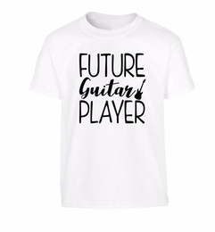 China Future guitar player kid's t-shirt bass electric acoustic strum lyrics 3983 Newest Top 100% Cotton Classic Fashion Style Men Tee suppliers