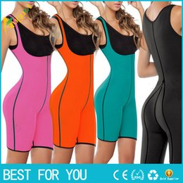 Corsets Suits NZ - Both Sides Sport One Piece Body Shaper Body Suit Butt Lifter Gym Fitness Slimming Fitness Ultra Sweat Corset