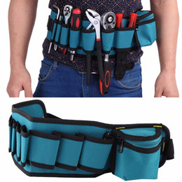 electrician pouches 2019 - Professional Electricians Tool Storage Holder Waist Bag Convenient Organizer Adjustabe Belt Electrician Tool Pouch Bag c