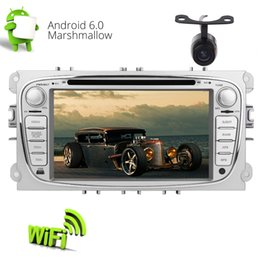 radio gps ford mondeo NZ - 7'' Android 6.0 Car Radio Stereo Bluetooth Double Din Headunit Multi-Touch Scrent System for Ford Mondeo GPS Navigation car DVD CD Player