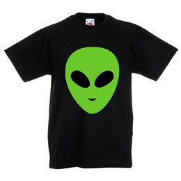 $enCountryForm.capitalKeyWord NZ - Kids Alien T Shirt - Space Halloween Party Costume Fancy Dress Top Boys Girls