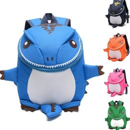 Vente en gros Dinosaure enfants sac à dos fille et garçon dessins animés enfant en bas âge sac à dos maternelle livre sac bon cadeau pour les enfants