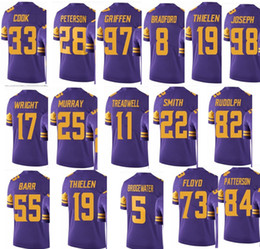 vikings color rush jerseys for sale