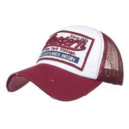 bf4480fcb630d Mesh Hat Baseball Cap Men Dad Hat For Women Brand Mens Sports Full Caps  Summer Bend Visor Male Bones Baseball Hats Fitted Cap